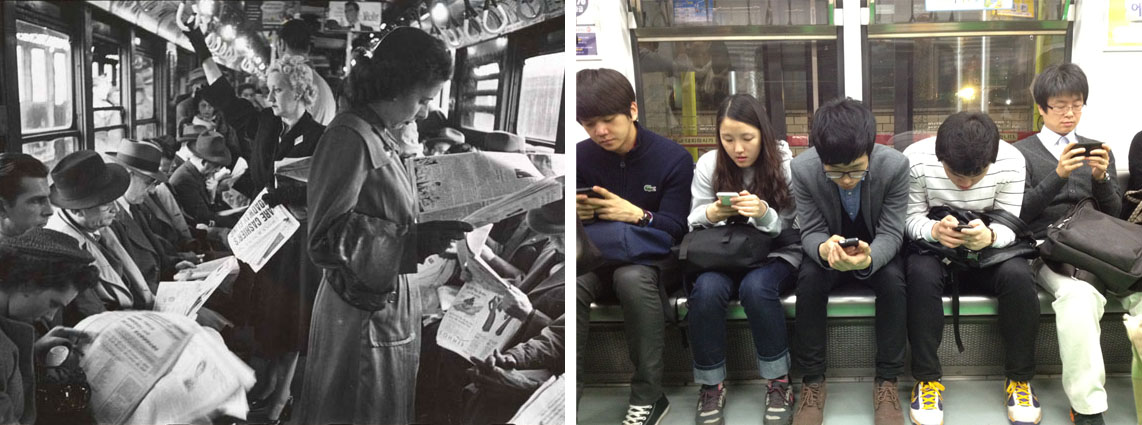 2 human behavior  subway seoul  kubrick blackwhite photo graph